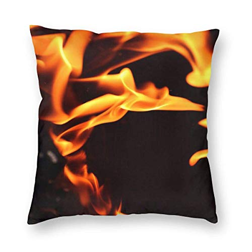 Leo-Shop Eagle American Flag Dekorative quadratische Kissenbezüge Soft Soild Pillow Sham für Stuhl 18 X 18 in