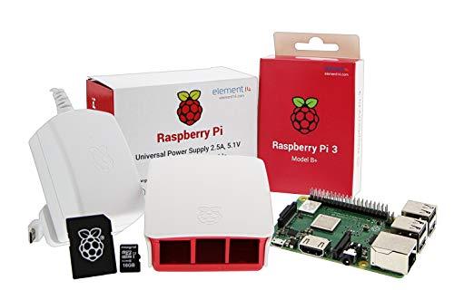 UCreate Raspberry Pi 3 Model B+ Desktop Starter Kit (16Gb) (White)