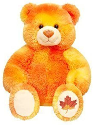 17  Build a Bear Autumn Bear 2007 - Limited Edition (see seller comments for stuffed or unstuffed) by Build a Bear