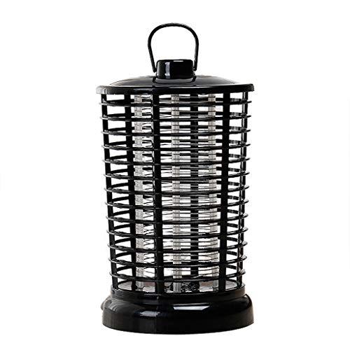 LVYE1 MRMF Lámpara Eléctrica UV para Matar Mosquitos, Al Aire Libre, Interior, Trampa para Insectos, Trampa Electrónica para Moscas, Mosquitos, Trampa para Matar Insectos, Luz LED Zapper