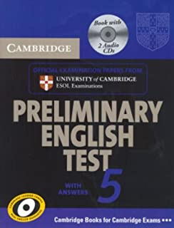 Cambridge Preliminary English Test 5 Self-study Pack (includes Audio CD) (PET Practice Tests)