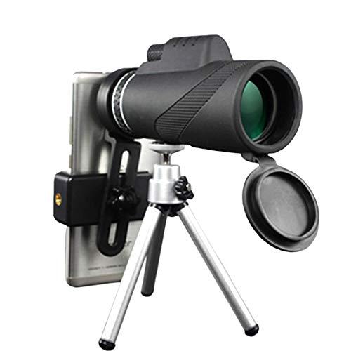 PLMO Profesional Caza Lente 40X60 Telescopio Zoom de Alta definición de la visión Nocturna de los prismáticos Teléfono Portátil Soporte Telescopio Telescopio Militar