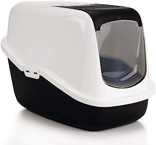 Nobby Cat Toilet Nestor, 56 x 39 x 38.5 cm, Black