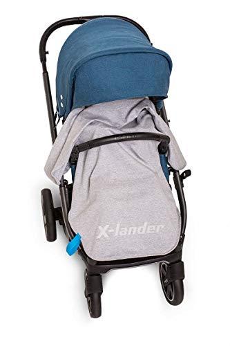 X-lander X-Wrap Manta de bebé de Algodón para silla de paseo