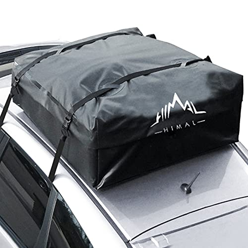 Himal Car Rooftop Cargo Carrier,15 Cubic Feet Heavy Duty Waterproof Vehicle Soft-Shell Rooftop Bag...