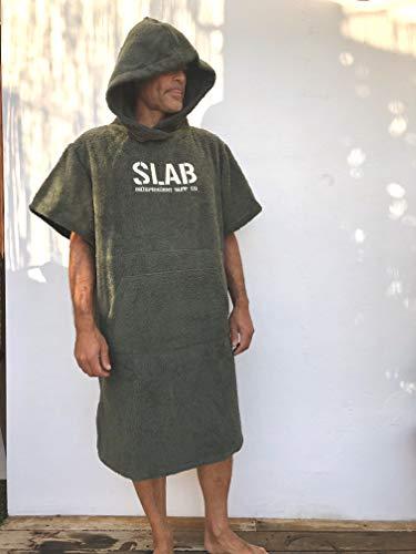 Slab-Poncho Toalla Army Talla S/M