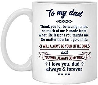 Hoe ver ik ga op het leven mok - betekenisvol klein cadeau voor papa Halloween, kerst koffie mok 11oz