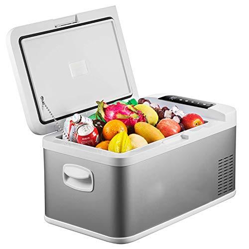 Reisekühlschrank, Mini Kühlschrank, Mini-Kühlschrank Mit Warmhalte-Funktion, Für 12 & 220 V, 16 Liter, (Mini Kühlschrank AC DC