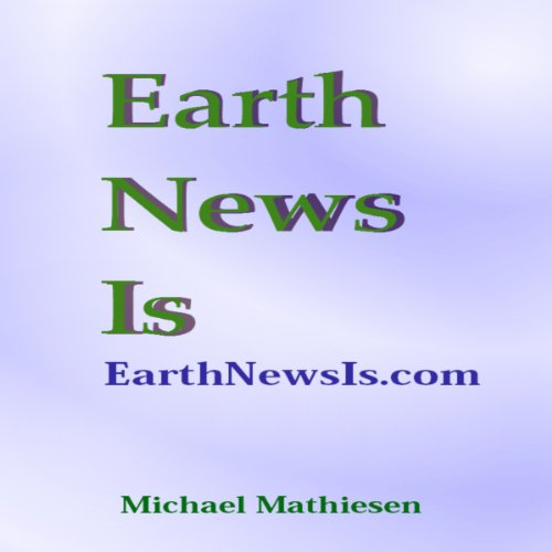 Earth News Is audiobook cover art