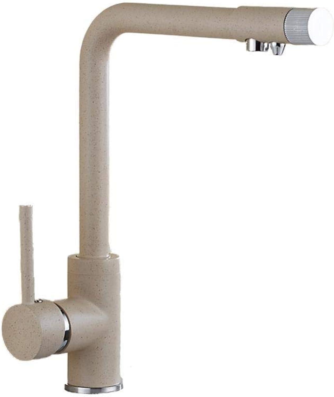 Wasserhahn Edelstahl Messing Chrom Bad Wasserhahn Spültischarmaturen Haferflocken Küchenmischer Wasserhahn Drehspüle Spüle Heien und Kalten Wasserhahn