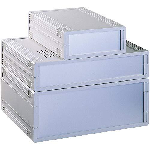Bopla ULTRAMAS UM62009L+1X AB02009+ 2X FP60018 Tisch-Gehäuse 290.9 x 108 x 199 ABS Hellgrau 1 St.