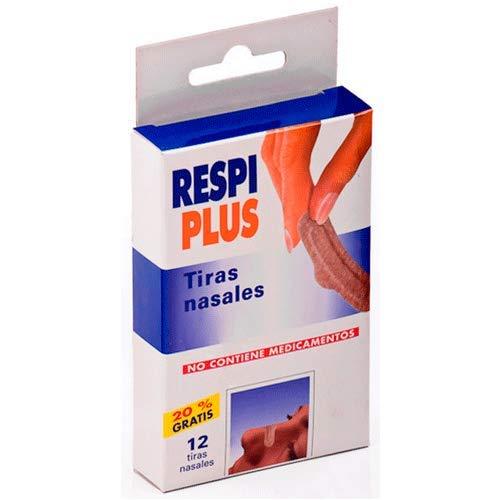 Respiplus Tira Nasal Respiplus 12U 150 g