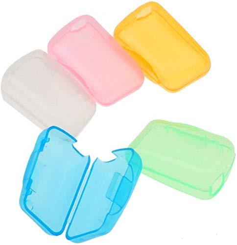 NICEMOVIC - 5 fundas protectoras para cabezales de cepillo de dientes portátil de viaje