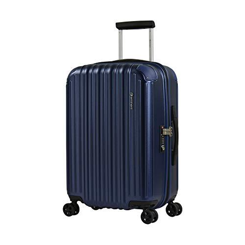 Eminent Maleta Cabina Move Air Neo 58 cm 50 L Maleta Viaje Ligera Protección Adicional en Las Esquinas y Superficie Anti rasguños Azul