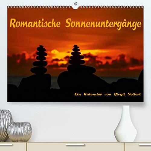Calvendo Premium Kalender Romantische Sonnenuntergänge: Romantik zwischen Tag und Nacht (hochwertiger DIN A2 Wandkalender 2020, Kunstdruck in Hochglanz)