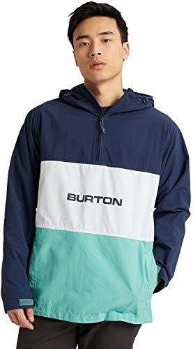 Burton Antiup Anorak Jacket Mens Sz L Dress Blue/Buoy Blue