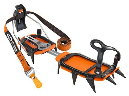 Climbing Technology Ice, halbautomatische Steigeisen Unisex–Erwachsene, schwarz, Einheitsgröße