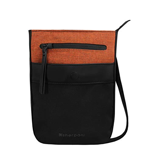Sherpani Prima, Anti Theft Travel Crossbody Bag, Small Crossbody Purse and Shoulder Bag for Women with RFID Protection (Copper)