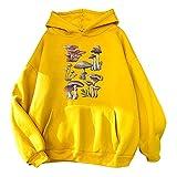 FMYONF Personalisierter Hoodie Damen Sweatshirt mit Kapuze,Süßer Kawaii Karikatur Kapuzenpullover...