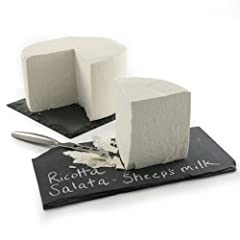 Ships expedited in an insulated package to ensure freshness Imported from Italy Made from lightly salted sheep's milk Extremely versatile, Ricotta Salata can be used in salads and pasta dishes and is ideal for grating A wonderful cheese to add to an ...