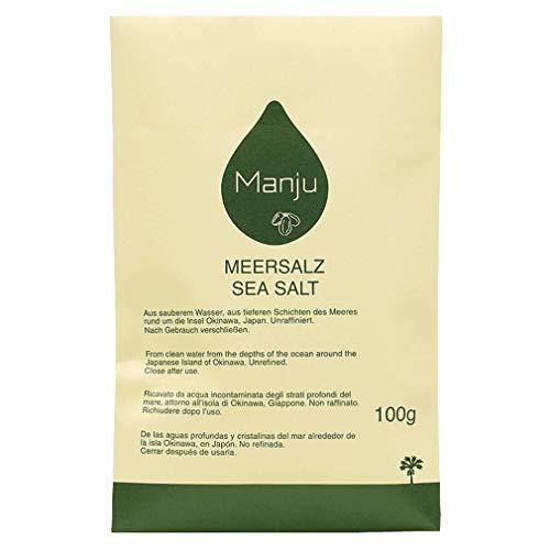 Manju Meersalz 100g Nachfüllpackung