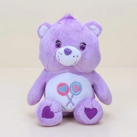 Troetelbeertjes Knuffel, Regenboog Teddybeer Gevulde Pop, Babyslaap Speelgoed, Verjaardagscadeau Voor Kinderen 30 Cm (Paars)