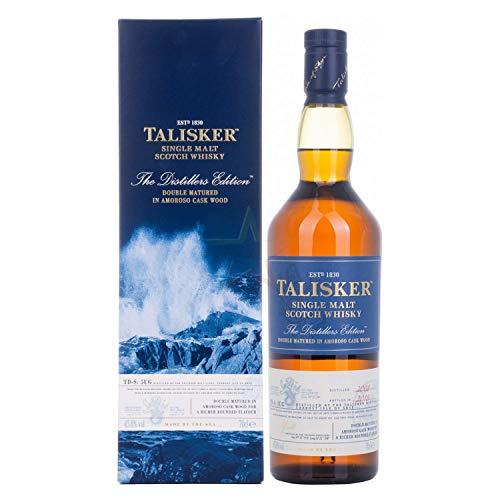 Talisker Distiller's Edition Whisky Escocés Puro de Malta de la Isla de Skye - 700 ml