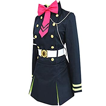 GZCOS Anime Shinoa Hiragi Cosplay Costume Uniform Dress Cosplay Costume Halloween Blue