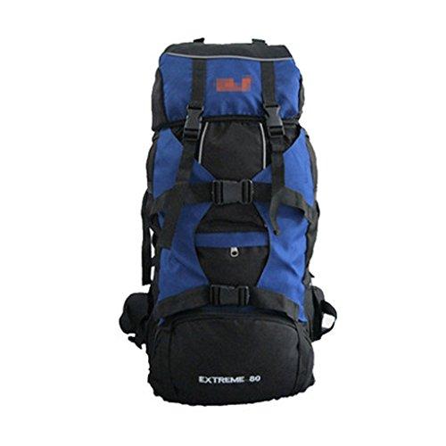 Grande capacité de plein air sacs de montagne voyage épaules marked 80L camping randonnée tourisme