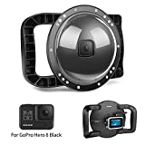 D&F Underwater Dome Port for GoPro Hero 8 Black Waterproof Housing Dome with...