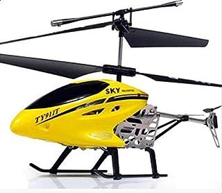 طائرة هليكوبتر بالريموت كنترول (صفراء) 25 سم TY919