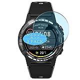 VacFun 3 Piezas Filtro Luz Azul Protector de Pantalla, compatible con PRIXTON SW37 M7 M7S smartwatch Smart Watch, Screen Protector Película Protectora(Not Cristal Templado)