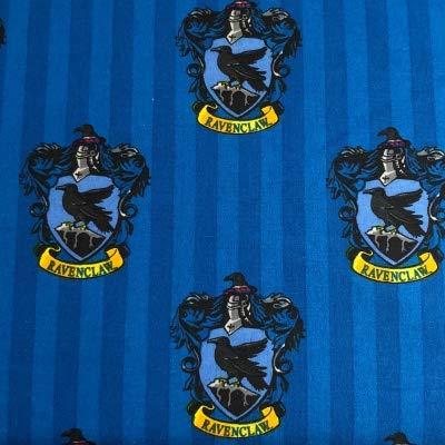 Harry Potter Tissu–par 0.5metre multiples–100% coton VISF61 HARRY POTTER - Ravenclaw Blue
