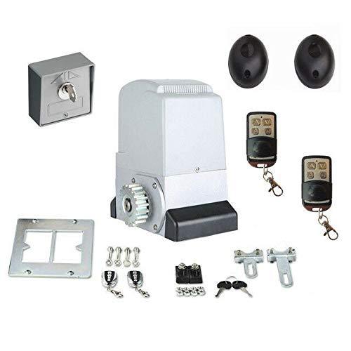 Accionamiento Portón Automatismo Puerta Corredera Set con hasta 1200kg Peso Puerta + 2 Weg Interruptor: Amazon.es: Bricolaje y herramientas