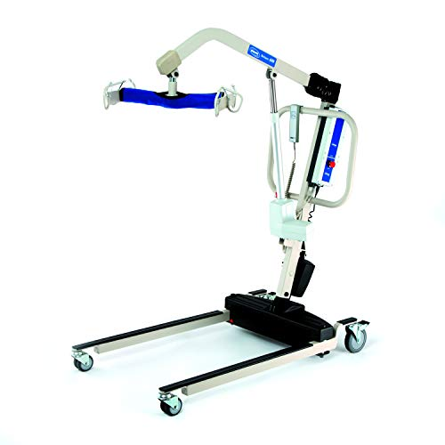 Invacare Reliant Heavy-Duty Battery-Powered Patient Lift with Power Opening Low Base, 600 lb. Weight Capacity, RPL600-2