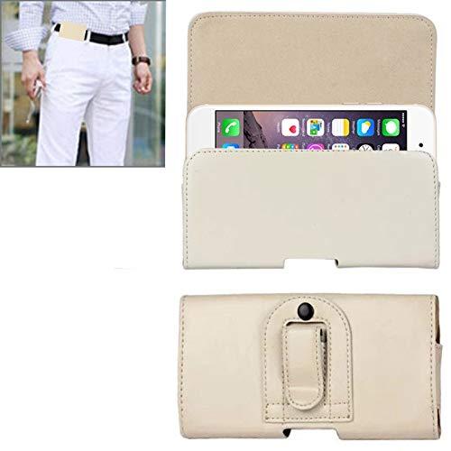 Cáscara del teléfono Caballo de la cintura Estilo Horizontal Textura loca bolsa de cuero for el iPhone 6 Plus y Plus 6S / Galaxy Note 4/3 Nota / Note 2 / A5 y A3 Funda protectora ( Color : Khaki )