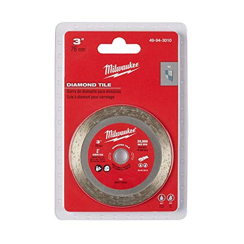 Milwaukee 49-94-3010 3 Inch Diamond Tile Blade