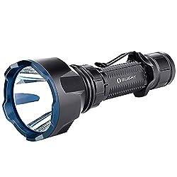 OLIGHT Warrior X Turbo Linterna LED 1100 l/úmenes, alcance de 1000 m, linterna t/áctica, recargable con cable magn/ético MCC3, bater/ía 21700, 5000 mAh