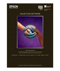 Epson C13S042096 Velvet Fine Art Papier Inkjet 260 g / m2 A2, 25 Blatt Pack