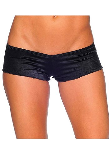 BODYZONE Women's Micro Shorts, Black, One Size