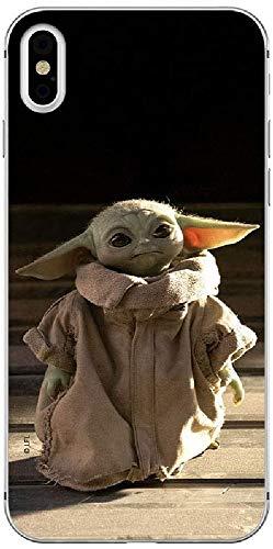 Original & Offiziell Lizenziertes Star Wars Baby Yoda Handyhülle für iPhone X, iPhone XS, Hülle, Hülle, Cover aus Kunststoff TPU-Silikon, schützt vor Stößen & Kratzern