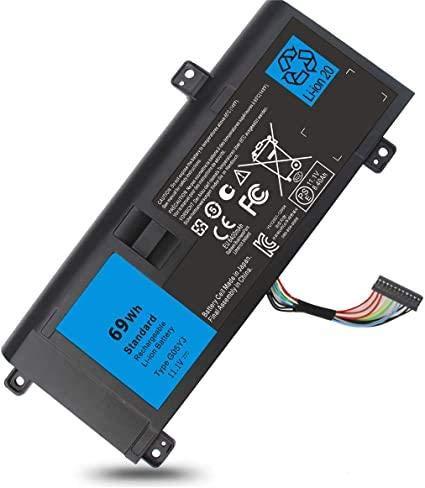 Alienware - Batería de repuesto para portátiles Dell Alienware 14 A14 M14X...