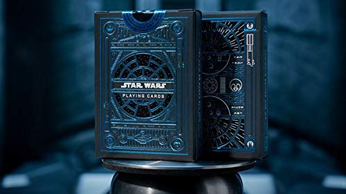 Murphy's Magic Supplies, Inc. Kartenspiele Star Wars Light Side (Blue) Playing Cards by theory11