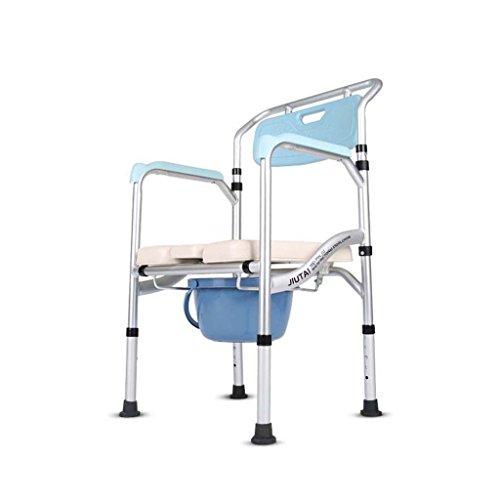 Ali Kommode Klappstuhl für Schwangere Frauen auf dem Stuhl sitzen 53 * 43 * (82-92) cm