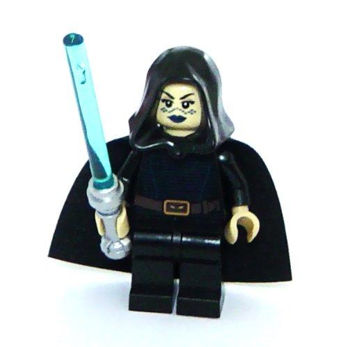 LEGO Star Wars: Jedi Barriss Offee Minifigura Con Azul Sable De Luz