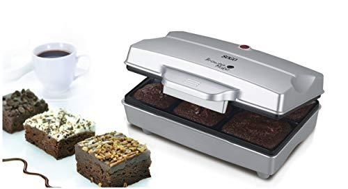 Sogo CCM-SS-7195 Máquina de Brownies, 800 W, Otro, Plata