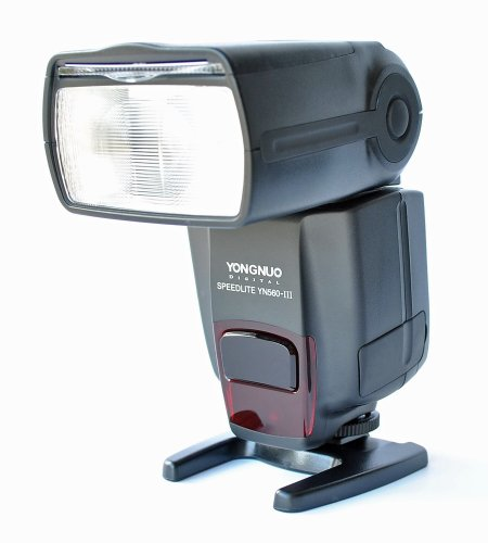 Yongnuo OS02037SM02037DE Digital Speedlite YN-560 III Universal Blitzgerät für Canon/Nikon/Olympus/Panasonic