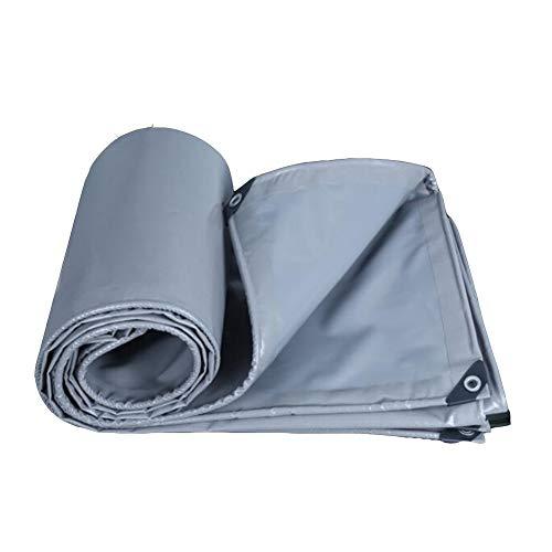 Dall bâche Bâche Imperméable Poncho UV Protégé De Plein Air Imperméable Toile D'ombre (Couleur : Gray, Taille : 3×3m)