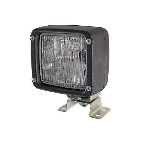 HELLA 1GA 996 150-081 Halogen-Arbeitsscheinwerfer - Ultra Beam - 12V - Anbau - 4-Punkt Befestigung/stehend - Geländeausleuchtung - Kabel: 2000mm - Stecker: AMP