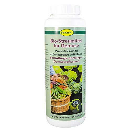 Schacht Bio-Streumittel für Gemüse, 600 g Streudose